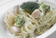 Füstölt sajtos-brokkolis-csirkés spagetti