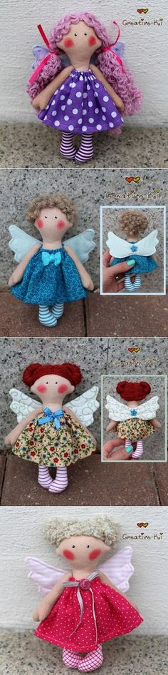 Creative-Ki: Angels / Ангелочки - девочки