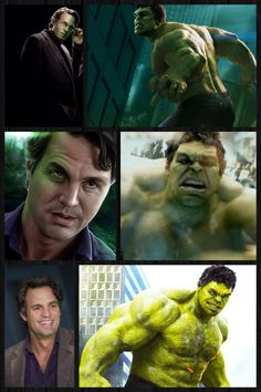 """The Avengers: Hulk/Bruce Banner Yes I have a major crush on the """"hulk"""" as well as the actor playing him"""
