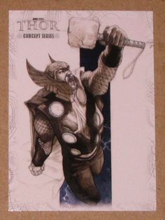 Thor Movie (Upper Deck 2011) Concept Series Card C9 VG