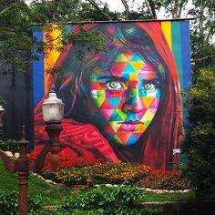 """""""Afghan Girl: murale in solidarietà con i rifugiati"""" Nuova opera di Eduardo Kobra – Brasile. LINK UTILI: Eduardo Kobra su questo blog Eduardo Kobra – Blog Eduardo Kobra – Instagra…"""