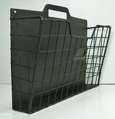 Amazon.com : Rustic Style Metal Wire Basket Wall Pocket Organizer Standard  File Holder 13.5