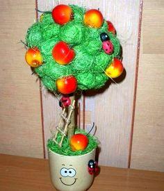Топиарий из сизаля: из шариков, фото, мастер класс своими руками, как сделать новогодний топиарий, елка, видео