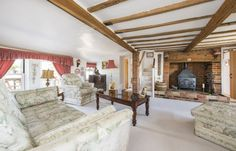 Dream homes – Cosy living rooms - David Burr #livingroom