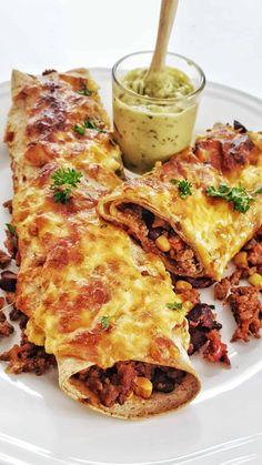 Mexican Tapas, Burger Co, Tex Mex, Fajitas, Lasagna, Brunch, Food And Drink, Low Carb, Snacks