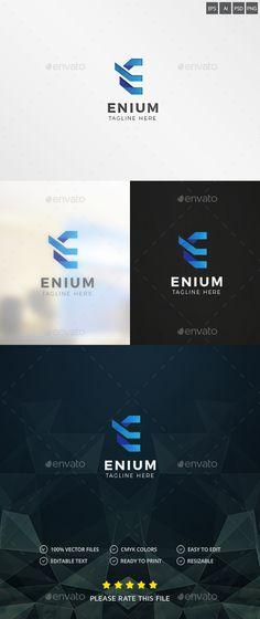 Evolve / Letter E Logo — Photoshop PSD #digital #software • Available here → https://graphicriver.net/item/evolve-letter-e-logo/18580030?ref=pxcr