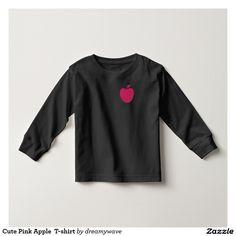 Cute Pink Apple  T-shirt
