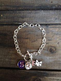 SFA charm bracelet by Beckyschunkystuff on Etsy