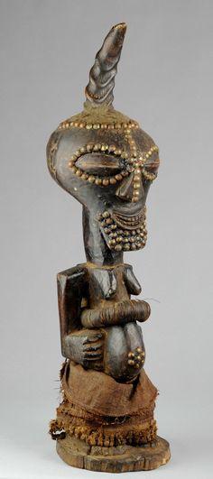 Grand Fétiche Songye Nkisi Congo Fetish power figure Art Africain statue tribal | eBay
