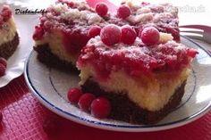 Expresný dvojfarebný ríbezľový koláč Pie, Desserts, Food, Torte, Tailgate Desserts, Cake, Deserts, Fruit Cakes, Essen