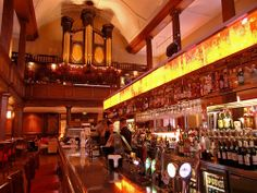 Once a church, now a pub, Dublin, Ireland. I sat at this bar. Dublin Nightlife, Dublin Pubs, Ireland Pubs, Ireland Travel, Stuff To Do, Things To Do, Restaurants, Cool Restaurant, Cafe Bar