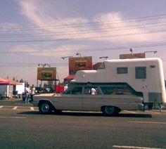 1963 Ford Country Sedan & Camper