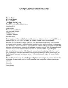 New Grad Nurse Cover Letter Example  This Free Sample Was