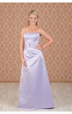 A really cute lilac bridesmaid dress, this works really well with dark purple.