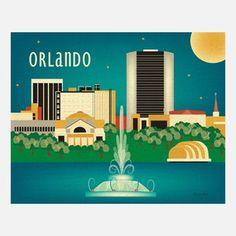 Orlando Print
