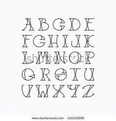 Latin Elegant Thin Line Typescript Capital stockvector (rech.- Latin Elegant Thin Line Typescript Capital stockvector (rechtenvrij) 410122696 Latin elegant thin line typescript. Hand Lettering Alphabet, Doodle Lettering, Creative Lettering, Lettering Styles, Graffiti Lettering, Alphabet Fonts, Capital Letter Fonts, Doodle Fonts, Alphabet Drawing