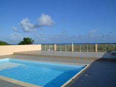 Villa Les hauts de may Villa 3 chambres piscine et magnifique  vue mer - Location Villa #Guadeloupe #SaintFrancois