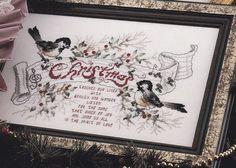 Christmas Cross Stitch Patterns - Christmas Splendor - Santa's Sleigh, Samplers, Mary and Child