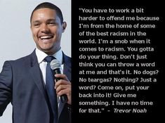 Seriously.   Trevor Noah Is The World's Sexiest Comedian