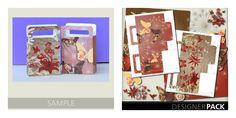 Printable Party Bag and free digital scrapbooking kit