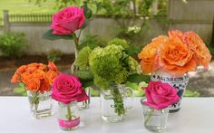 Deconstructing flowers arrangements