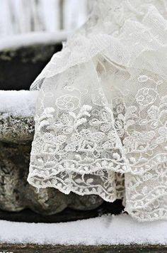 #Lace #white