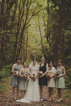 beautiful casual bridesmaids style | www.onefabday.com