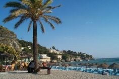 La Herradura, a small Paradise on the Costa Tropical, south of Spain. Away from mass tourism, and a mild climate all year around. Spanish Language School, Study Spanish, South Of Spain, Spanish Culture, Andalucia, Malaga, Far Away, Granada, San Francisco Skyline