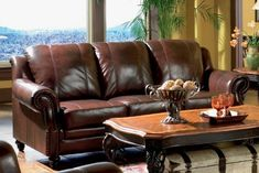 A leather sofa can add appealing style and extreme comfort to your living room. Use our guide to find the perfect leather couch to suit your family's lifestyle.