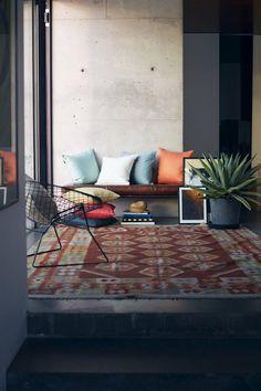 concrete + colour