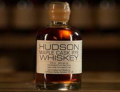 Drink Spirits reviews Tuthilltown Hudson Maple Cask Rye Whiskey.