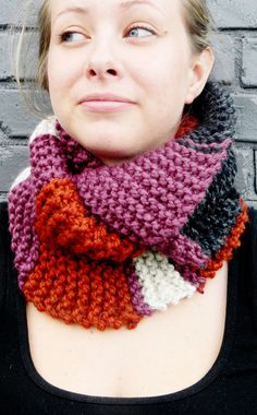 Adult Knit Infinity Scarf by HeyBabyCraftCo on Etsy