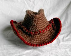 Bizzy Crochet: Cowboy Hat and Boots