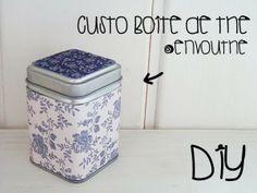 Les p'tites créa' par Caro Dels - Blog créatif, DIY: DIY : Customise ta boite à thé Envouthé
