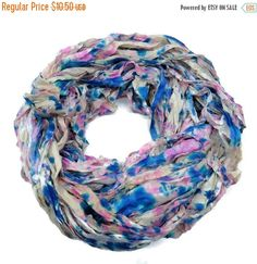 SALE New! Sari Silk Ribbon, 100g , Splash Collection