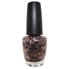 Opi Opi Nail Lacquer Nail Polish, Two Wrongs Don't Make A Meteorite ($6.63) ❤ liked on Polyvore featuring beauty products, nail care, nail polish, gold, peel nail polish, shiny nail polish, opi nail care, opi nail lacquer and opi nail varnish
