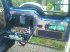 Rear panel mods