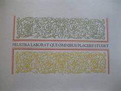 From Flosculi Senentirarum, by Leonard Baskin.