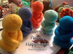 Crocheted Buddha Group