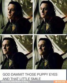 Loki ~ Those puppy eyes and that smile...