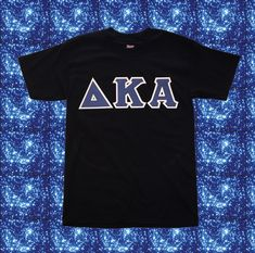 You'll love the way we sew your greek letter shirts. Choose your apparel, greek letters, and letter colors. Fraternity Letters, Sorority Letters, Greek Letter Shirts, Customize Your Own Shirt, Custom Greek Apparel, Greek Clothing, Lettering, Sewing, Colors