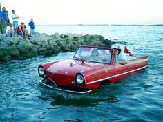Credit World War II for making cars that can swim. And though the largest numbers of amphibian passenger cars were made way back in the 1960s, the prospect of a car that can navigate waterways like a boat continues to attract inventors.