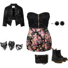 rock, created by olafasola97 on Polyvore