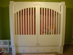 Project Nursery - Special needs bed