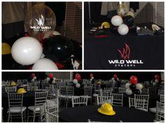 Corporate Event Decor by www.idealpartydecorators.com