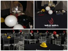 Corporate Event Decor by www.idealpartydecorators.com