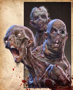 Three Dirty Rotters by Kaduflyer on @DeviantArt