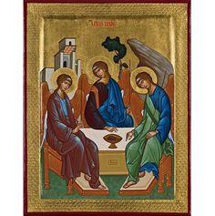 Pri príležitosti slávnosti Najsvätejšej Trojice v Katolíckej cirkvi západného obradu prinášame úvahu nad ikonou Najsvätejšej Trojice, ktorú pre čitateľov Postoja vybral a preložil Ján Krupa.