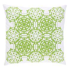 Allem Studio Mosaic Green Pillow @Zinc_Door