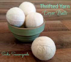 So, let me get this straight… creating your own DIY Felted Wool Dryer Balls is a project that will (1) cost me very little up front and save me a LOT in the long run, (2) is FAR better for our plan...